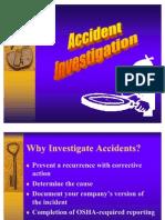 Accident Investigation Revised