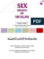 Six Rights of Muslim