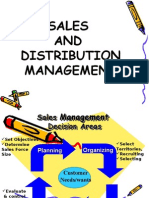 Sales and Distribution Management