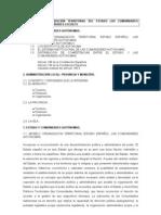 Tema 3 La Organizacion Territorial