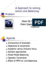 Line Balancing Presentation