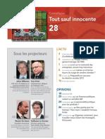 FORWARD, le magazine de la FEB, mai 2011, le sommaire