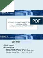 womensstudies