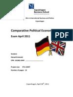 Comparative Political Economy 2 Exam Paper