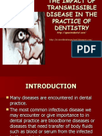 The Impact of Transmissible Disease on the Practice