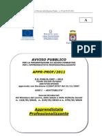 Avviso Pubblico_ Apprendistato Professionalizzante[1]