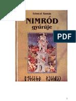 Gonczi Tamas Nimrod Gyuruje