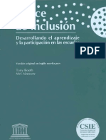 Index Spanish South America INCLUSION