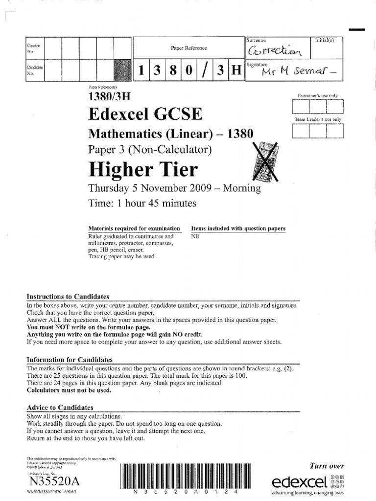 June 2009 mark scheme.