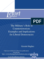 The Military's Role in Counterterrorism