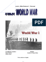 Atestat First World War