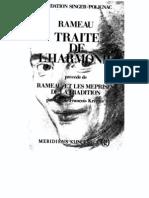 Traité de l'harmonie - Rameau