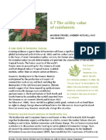 The utility value of rainforests
