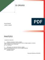 PANTEÃO DOS ORIXÁS