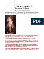 Feast of Divine Mercy after Easter