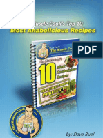 Anabolic Recipes Top 10