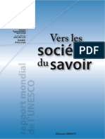 UNESCO vers les sociétés du savoir Rapport mondial 2005