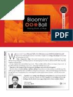 2011 Bloomin' Ball program
