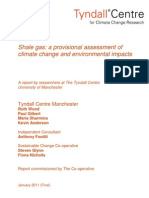 The Tyndall Report on Fracking