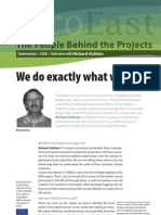 Interview with Richard Aishton - FLEG - Environment