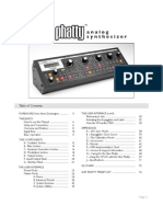 Slim Phatty User Manual