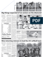 Spring Sports Preview 040711