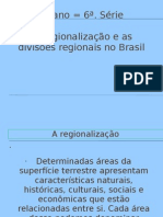 Regionalização do Brasil Ok