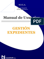 Gestion Expedientes - Siga