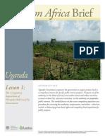 Uganda Lesson 1 Brief