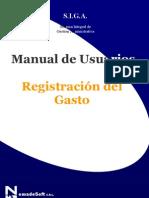 Registracion Presupuestaria - Siga