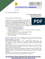Of+¡cio 026- aos CPRs -  proposta CONSTRU+ç+âO PESADA