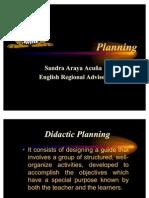 Taller de planeamiento didáctico