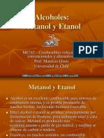 Metanol y Etanol