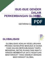 isue gender dalam politik global