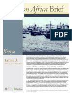 Kenya Lesson 3 Brief