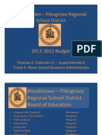 BUDGET 2011-2012 Power Point Presentation
