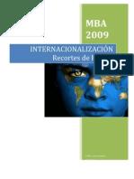 INTERNACIONALIZACIÓN Recortes de Prensa
