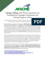 AFSCME Report Making a Killing