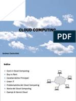 Cloud Computing e Business Model