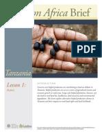 Tanzania Lesson 1 Brief