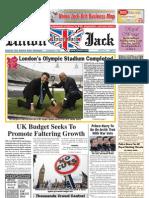 Union Jack News — April 2011