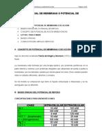 TEMA II. POTENCIAL DE MEMBRANA O POTENCIAL DE ACCIÓN (1)