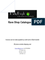 Rave Shop Catalogue 2011