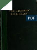 Printers Dictionary