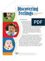 Discovering Feelings - Consultants Notes