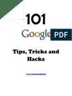 101 Google Tricks Tips and Hacks