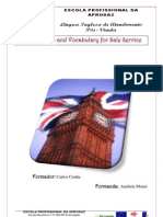 Trabalho individual sobre Useful Phrases and Vocabulary for Sale Service da UFCD de Lingua Inglesa-Atendimento Pós-Venda