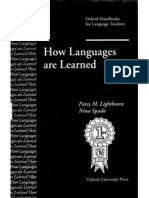 How Languages Are Learned 001