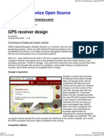 GPS receiver design