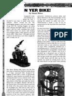 Ash Wastes Nomads - On Yer Bike (Necromunda Magazine)